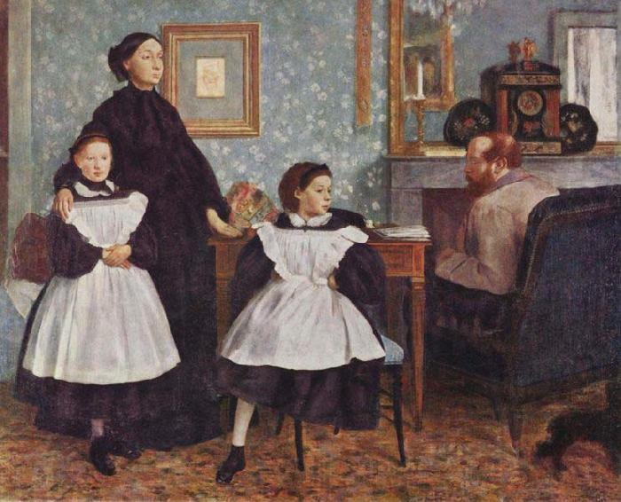 Edgar Degas Portrait of the Bellelli Family