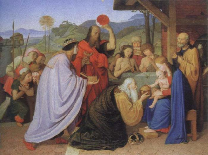 Friedrich overbeck adoration of the kings