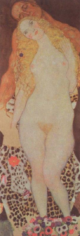Gustav Klimt adam and eve