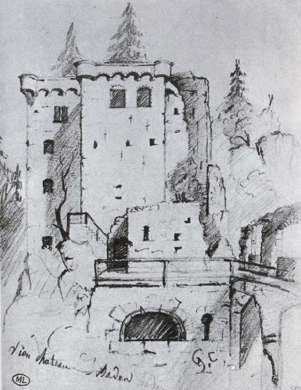 Gustave Courbet Castle