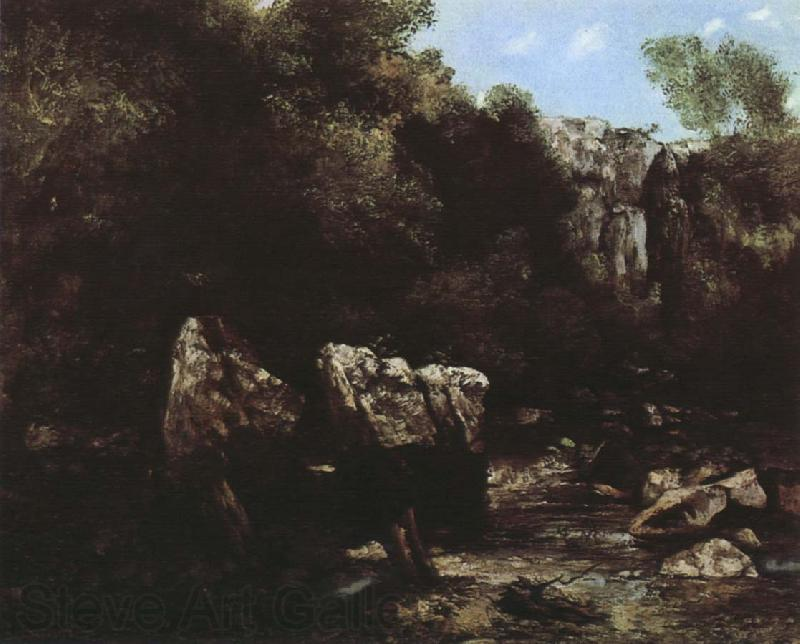 Gustave Courbet Valley