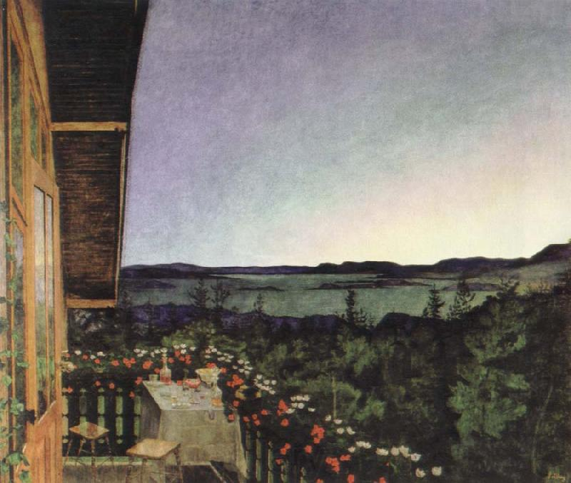Harald Sohlberg summer night
