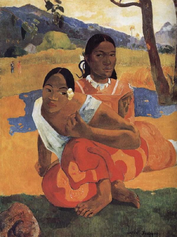 Paul Gauguin When you get married