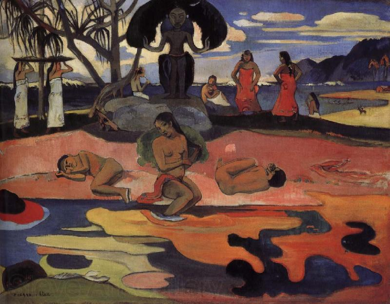 Paul Gauguin Day of worship