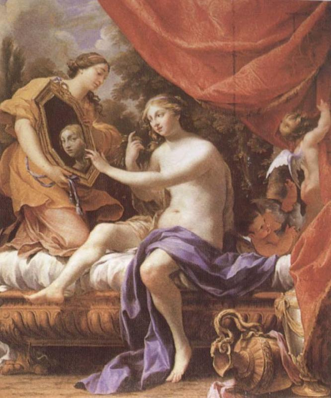 Simon  Vouet The Toilet of Venus