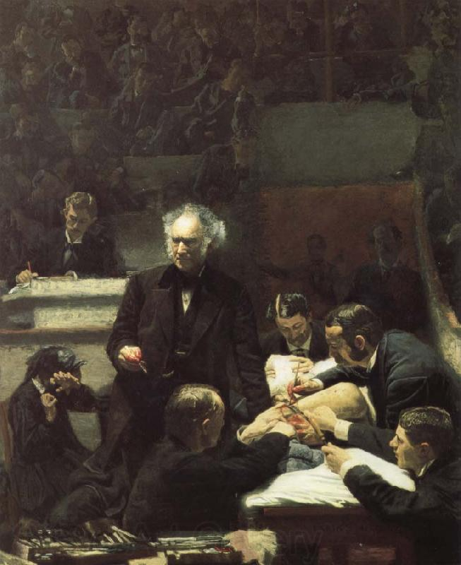 Thomas Eakins Gross doctor's clinical course