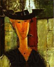Amedeo Modigliani Madame Pompadour by Modigliani