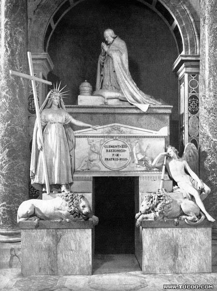 Antonio Canova Tomb of Pope Clement XIII