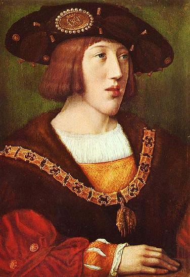Bernard van orley Portrait of Charles V