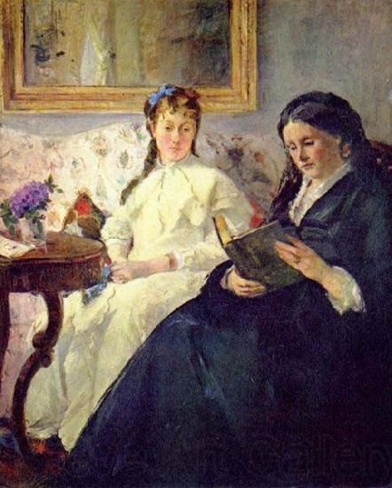 Berthe Morisot The Mother and Sister of the Artist