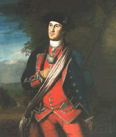 Charles Willson Peale George Washington in uniform, as colonel of the First Virginia Regiment