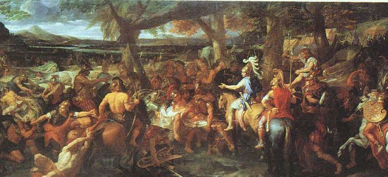 Charles le Brun Alexander and Porus
