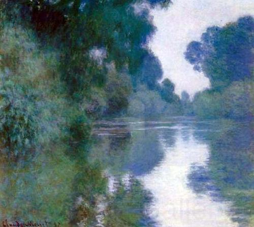 Claude Monet Branch of the Seine near Giverny,
