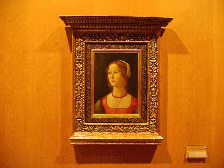 Domenico Ghirlandaio Portrait of a Young Woman