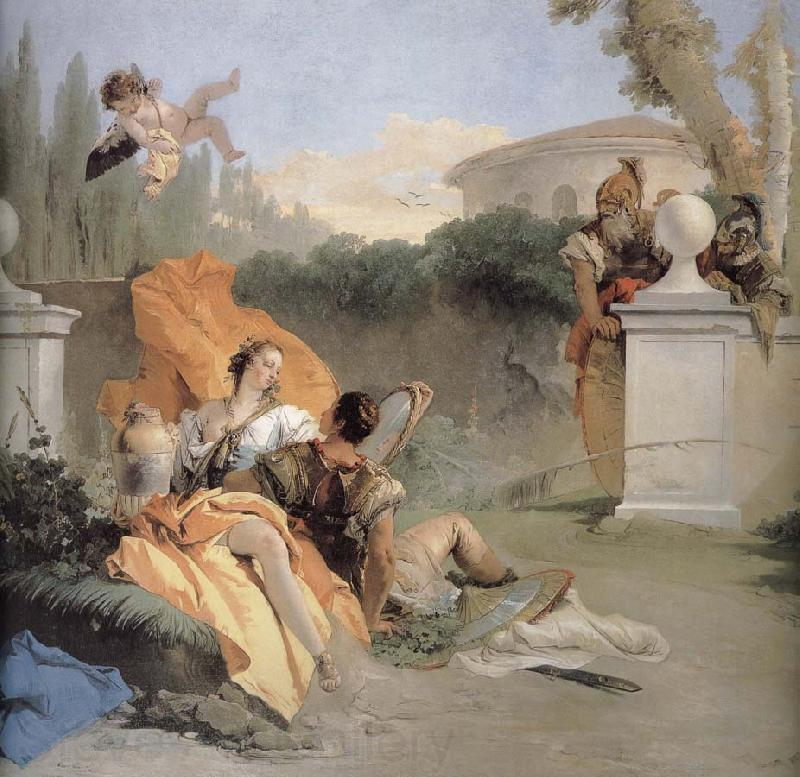 Giovanni Battista Tiepolo NA ER where more and Amida in the garden