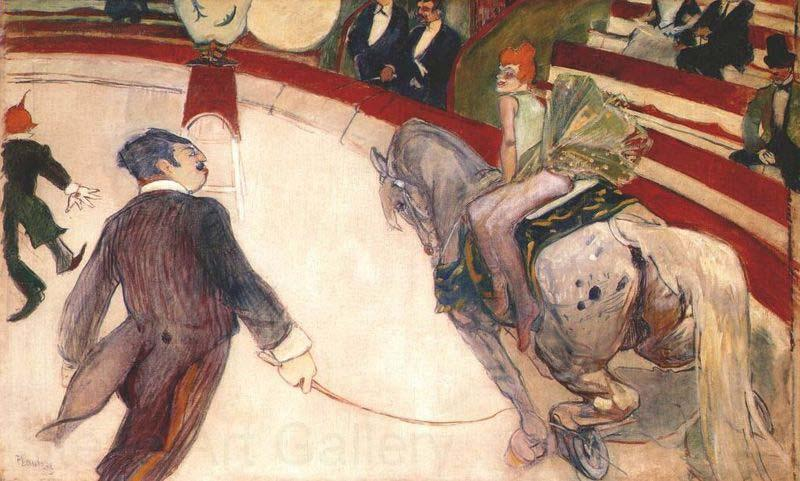 Henri de toulouse-lautrec At the Circus Fernando