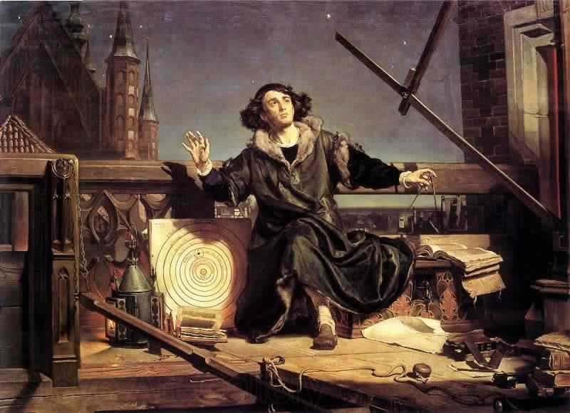 Jan Matejko Copernicus, in Conversation with God