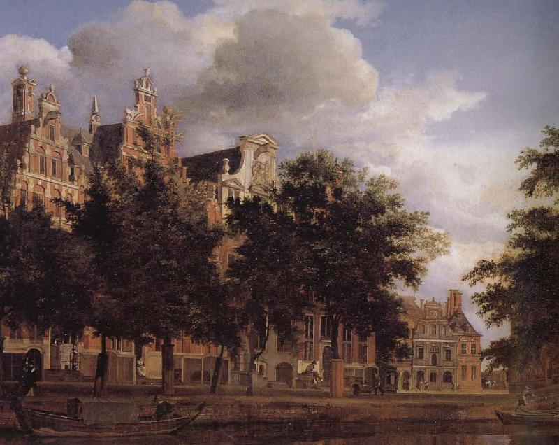 Jan van der Heyden Canal house