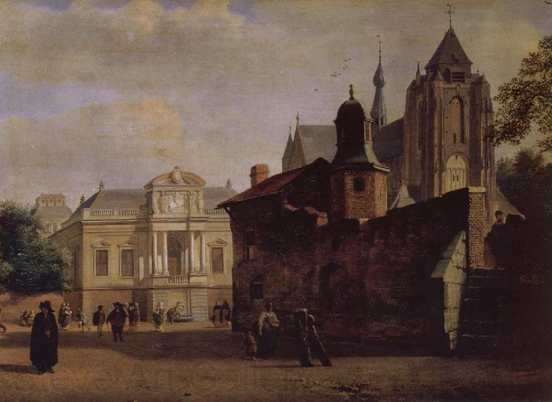 Jan van der Heyden Baroque palaces and the Cathedral