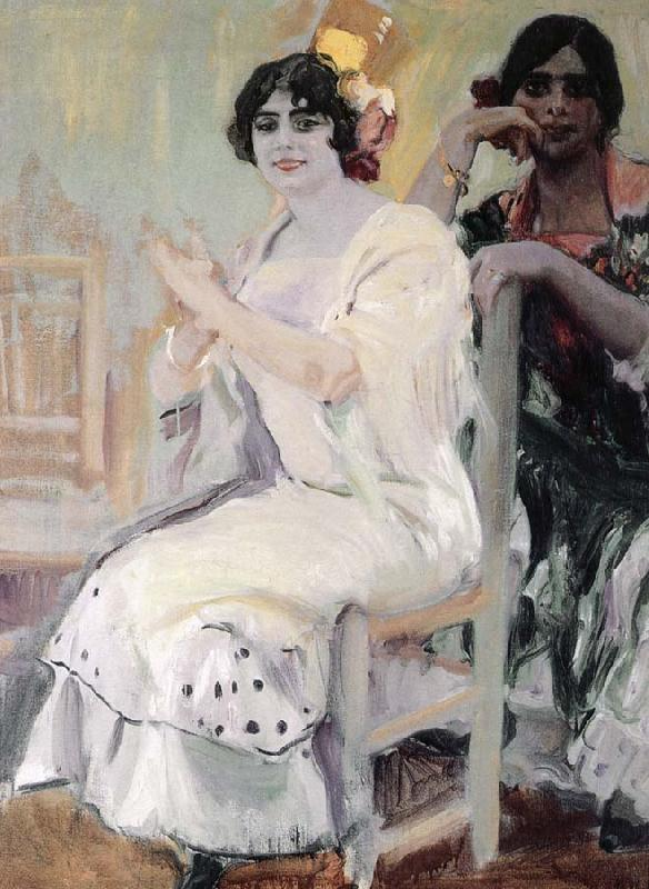 Joaquin Sorolla Flamenco singing