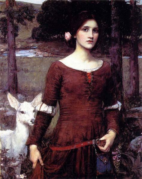 John William Waterhouse The Lady Clare