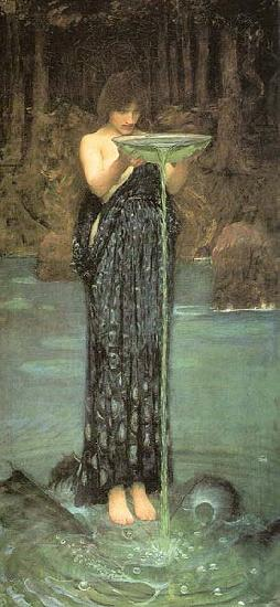 John William Waterhouse Circe Invidiosa
