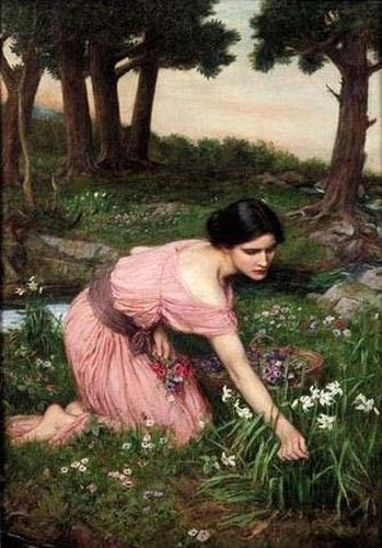 John William Waterhouse Spring Spreads One Green Lap of Flowers