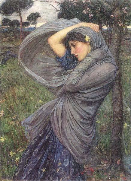 John William Waterhouse Boreas
