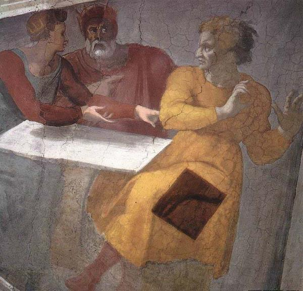 Michelangelo Buonarroti Punishment of Haman