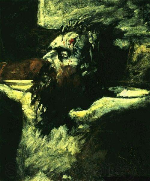 Nikolai Ge Head of Jesus. Preparation for The Crucifixion.