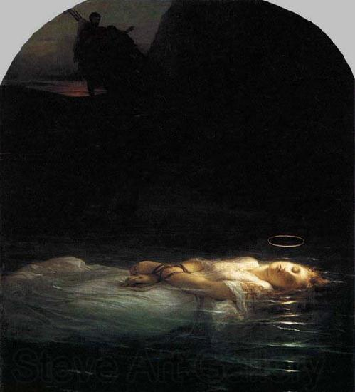 Paul Delaroche Young Christian Martyr