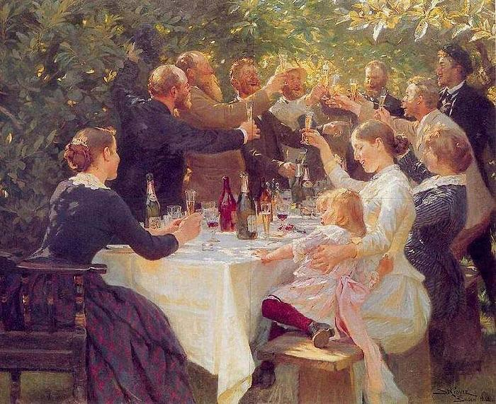 Peder Severin Kroyer Hip hip hooray