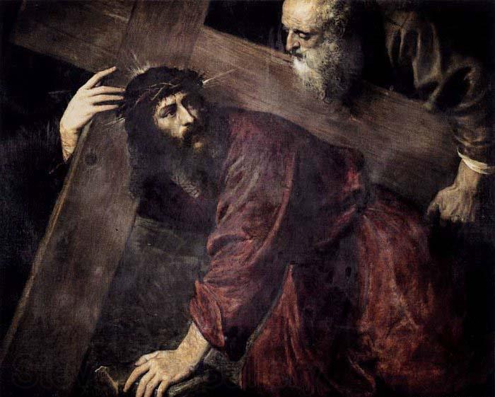 TIZIANO Vecellio Christ Carrying the Cross