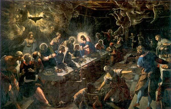 Tintoretto The Last Supper