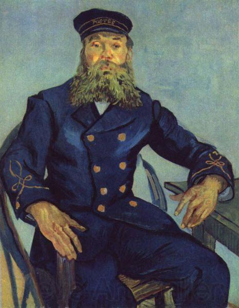 Vincent Van Gogh Joseph Roulin the Postmaster