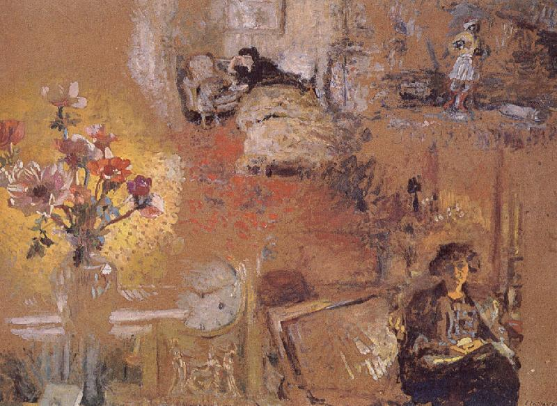 Edouard Vuillard Self Study of Black people