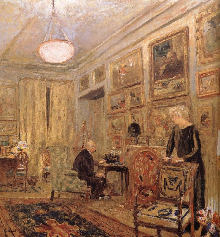 Edouard Vuillard Black in the room