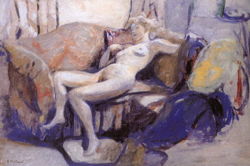 Edouard Vuillard Sofa of nude women
