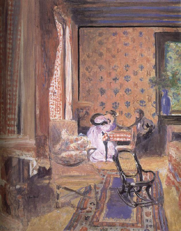 Edouard Vuillard Draughts game