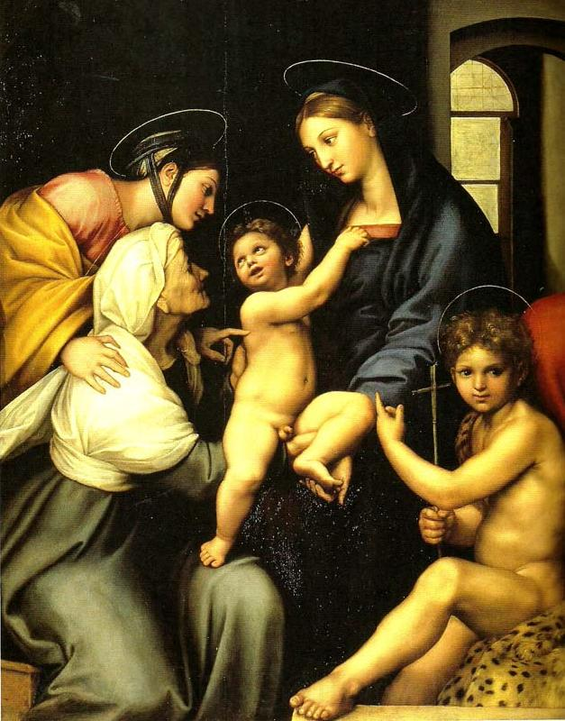 Raphael the madonna dell' impannata