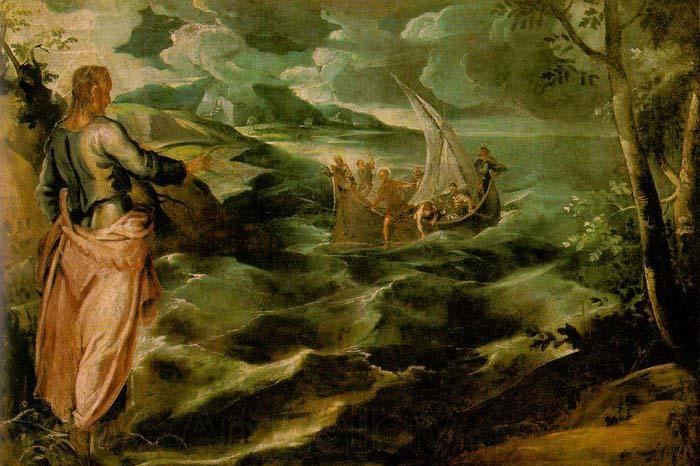 Tintoretto Christ at the Sea of Galilee