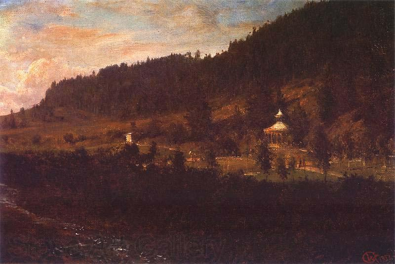 Wojciech Gerson Mountain-foot scenery.