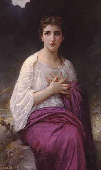 Adolphe William Bouguereau Psyche
