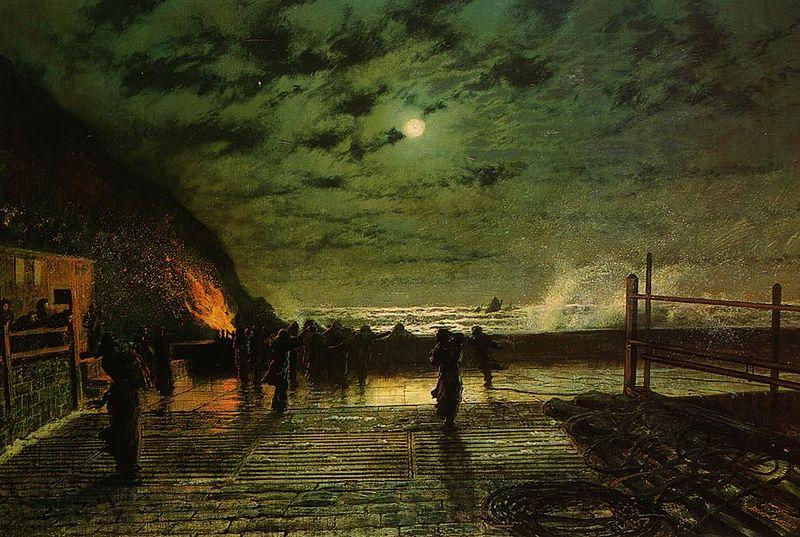 Atkinson Grimshaw In Peril