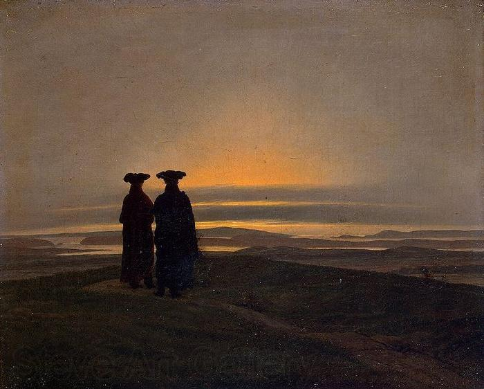 Caspar David Friedrich Sunset