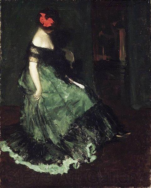 Charles Webster Hawthorne The Red Bow