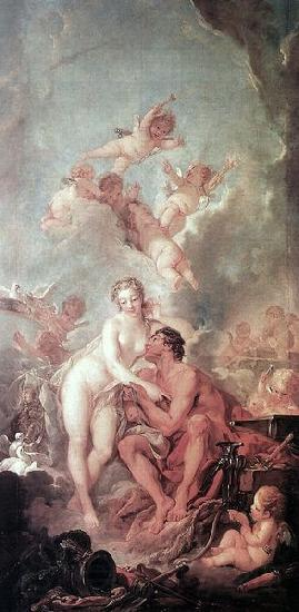 Francois Boucher Venus and Mars