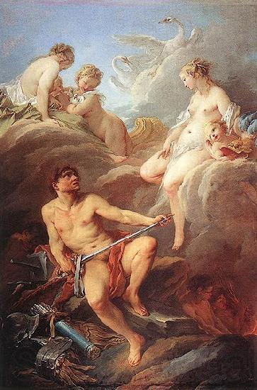 Francois Boucher Venus Asking Vulcan for Arms for Aeneas