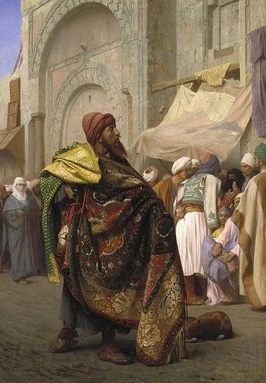 Jean Leon Gerome Carpet Merchant of Cairo