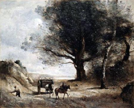 Jean-Baptiste-Camille Corot The Stonecutters